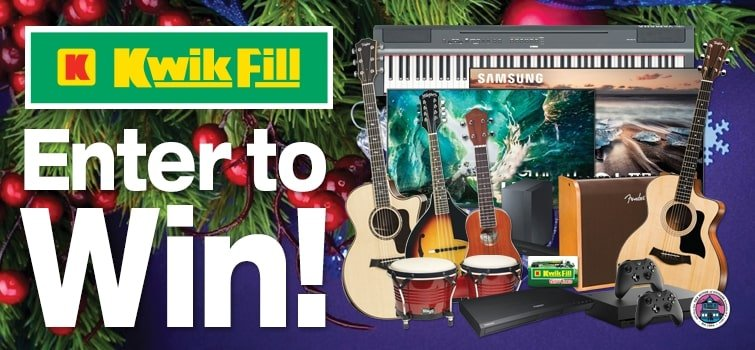 2019 Christmas Giveaway - Kwik Fill Sounds