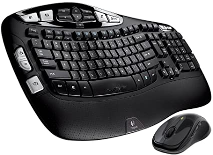 Logitech keyboard MK550 Wireless Wave - Logitech