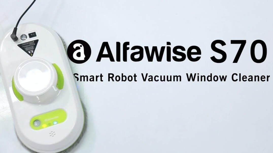 Alfawise S70 Automatic Smart Window Cleaning Robot Vacuum Glass Cleaner