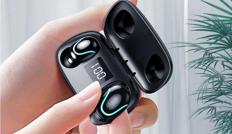 LEEHUR TWS Mini Bluetooth Earphone 5.0 IPX7 Waterproof