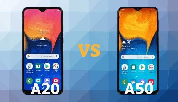 Samsung Galaxy A20 vs A50 Review
