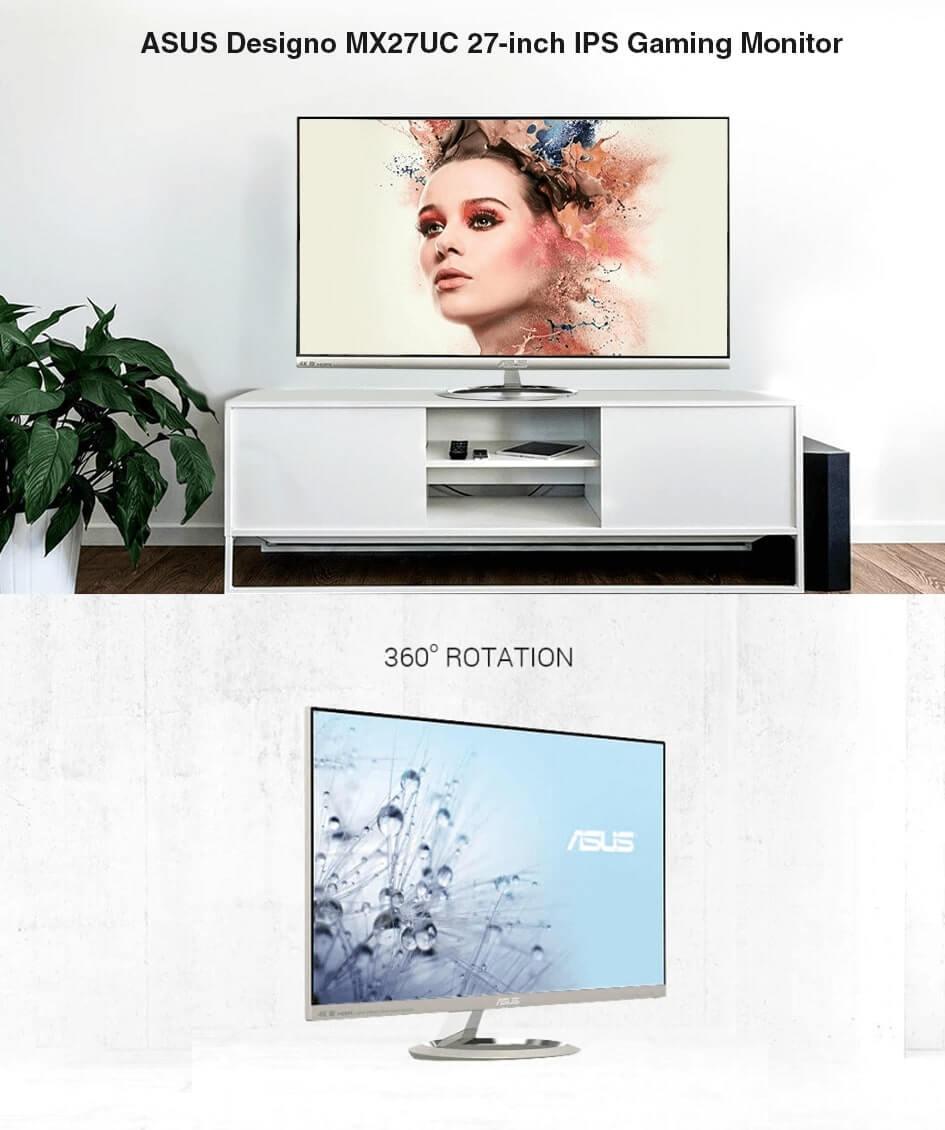 ASUS Designo MX27UC 27-inch IPS Gaming Monitor - Asus Black Friday Deal