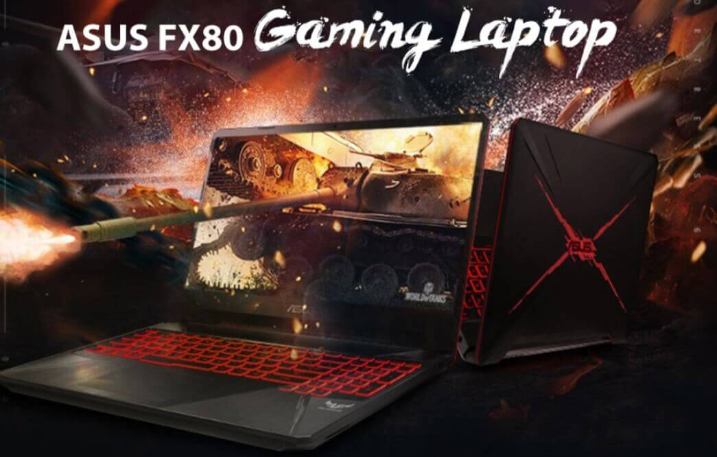 ASUS FX80 Gaming Laptop - Asus Black Friday Deals 50% Off