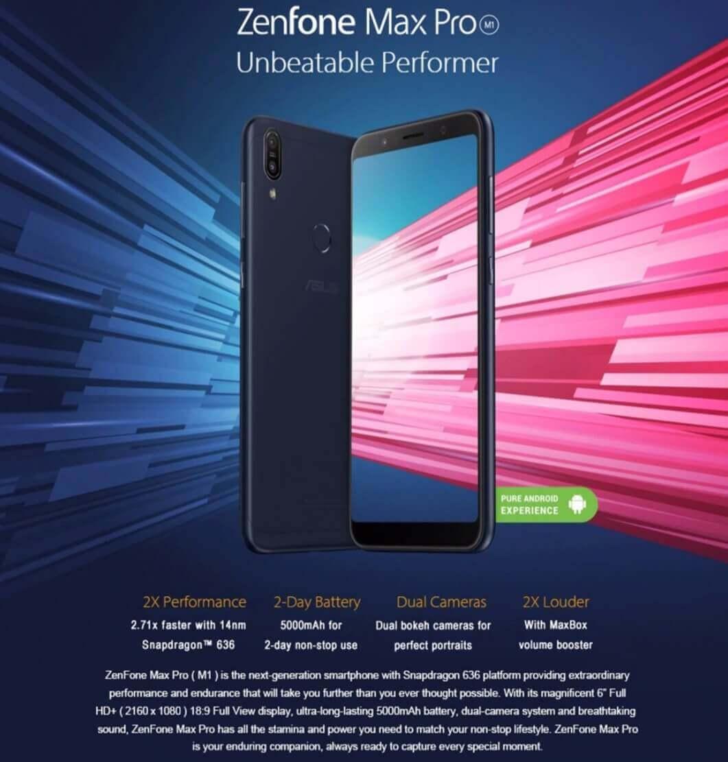 ASUS ZenFone Max Pro - Asus Black Friday Deals