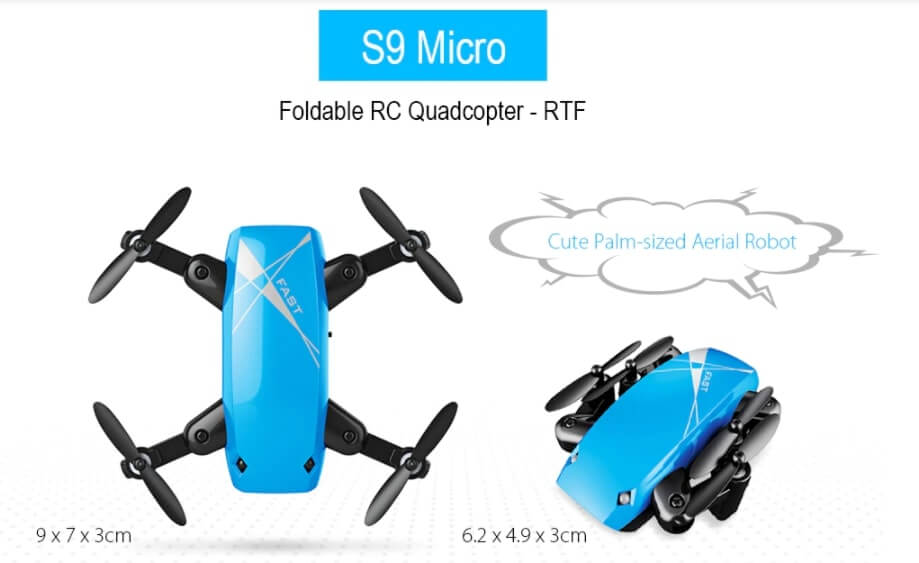 Black Friday Drone Sale - S9Q Micro Foldable RC Drone