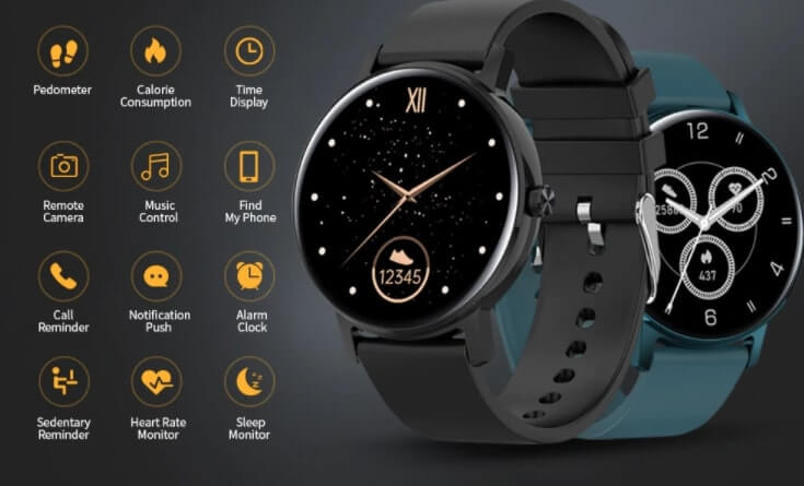 CORN WB05 Black Friday Sale Bluetooth Call Waterproof Smart Watch