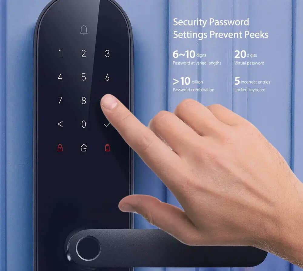Aqara N100 Smart Door Lock with Doorbell