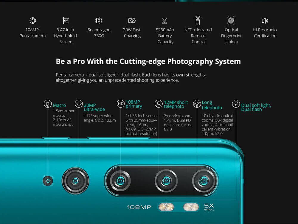 Xiaomi Mi Note 10 Pro Christmas sale 2020