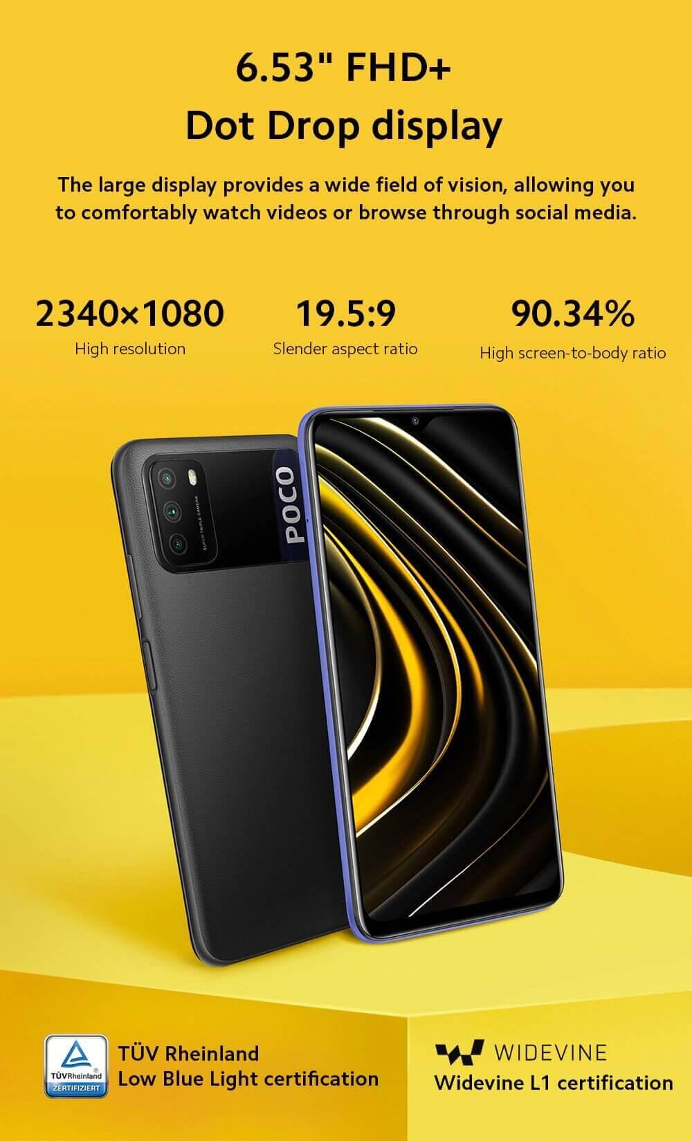 Xiaomi Poco M3 4G Christmas sale 2020 Smart Phone