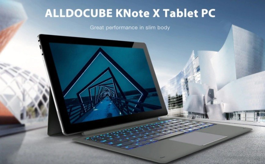 Christmas deals 2019 - ALLDOCUBE KNote X 2-in-1 Tablet PC