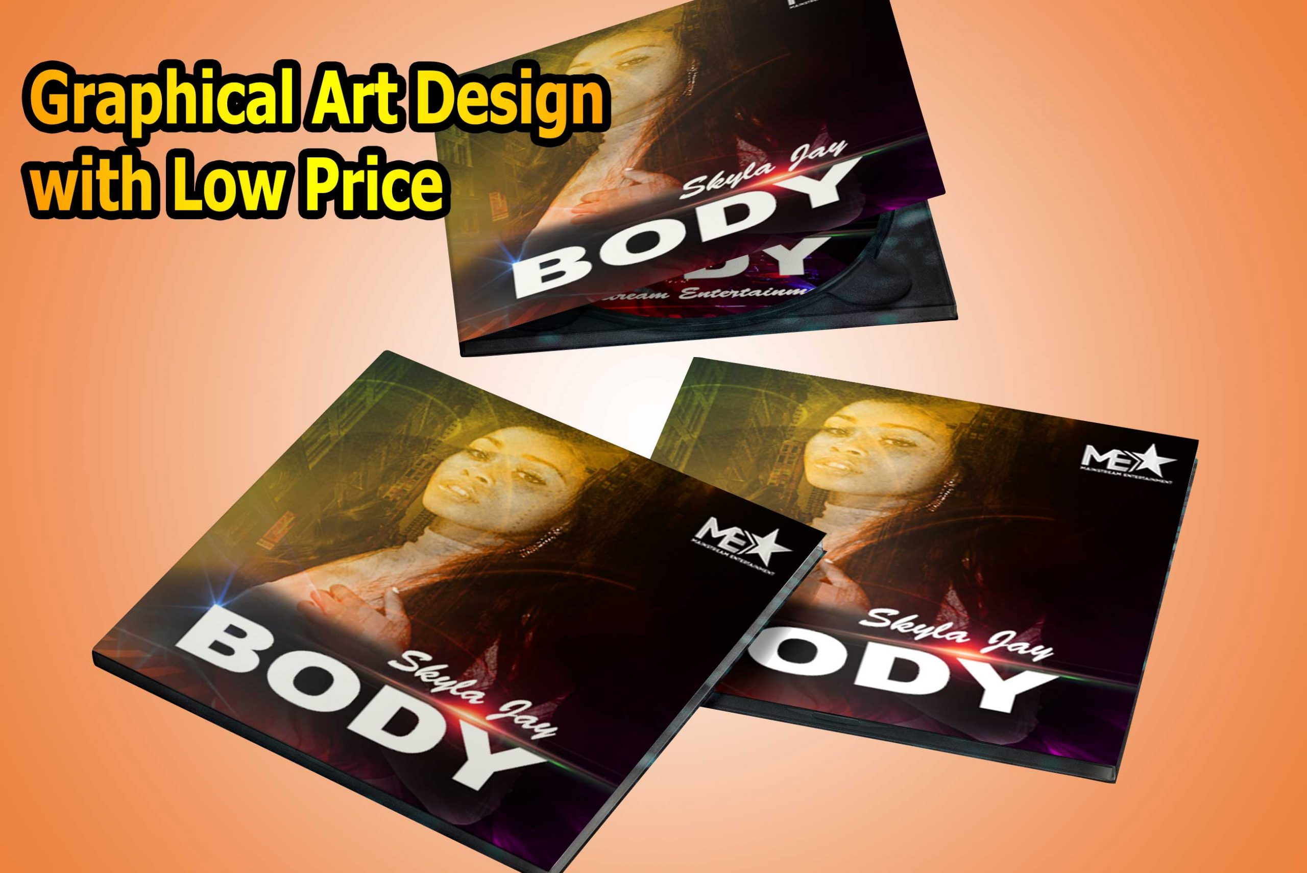 Album Cover & Graphical Art Design with Low Price
