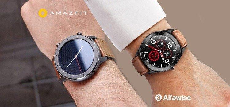 Alfawise Watch 6 vs Huami Amazfit GTR