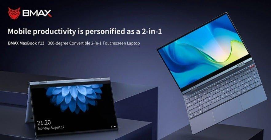 Cyber Monday deals 2019 - BMAX Notebook 360 Degrees Laptop