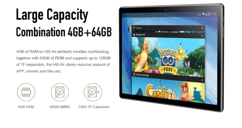 CHUWI Hi9 Air 4G Phablet 4GB RAM 64GB ROM1
