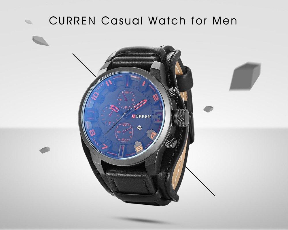 Black Friday 2019 Deals: CURREN 8225 Casual Men Quartz Watch