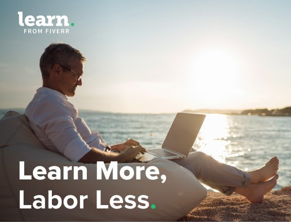 Celebrate Labor Day with 30% off Learn Courses - Fiverr