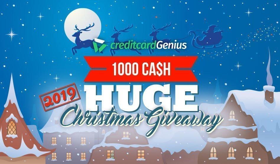 Christmas Giveaway 2019 - HUGE Cash $1,000