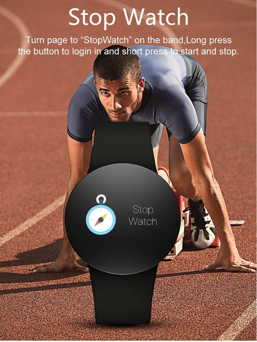 Black Friday 2019 Deals: DZ WD3PLUS Unisex Smart Watch Step Calorie Information Reminder