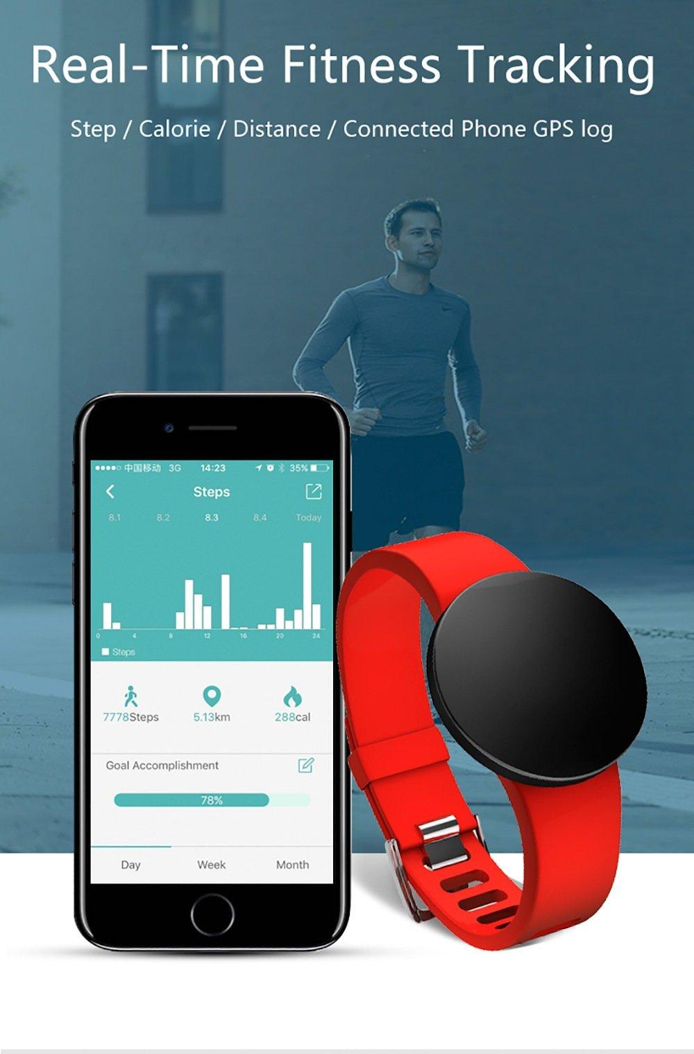 DZ WD3PLUS Unisex Smart Watch Step Calorie Information Reminder