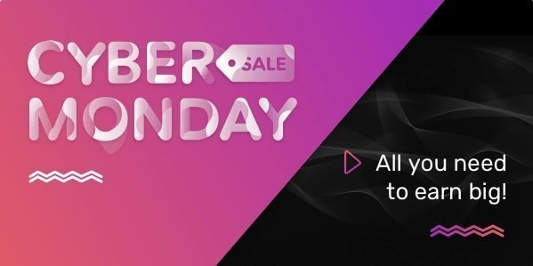 Envato Black FridayCyber Monday Sale 2019