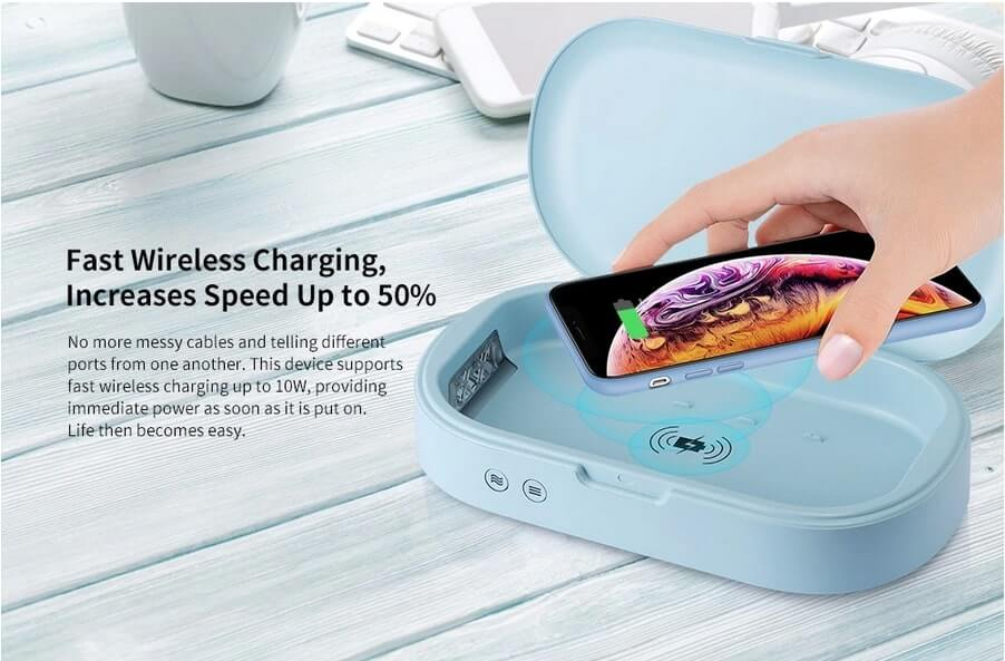 Gocomma UV Wireless Fast Charger