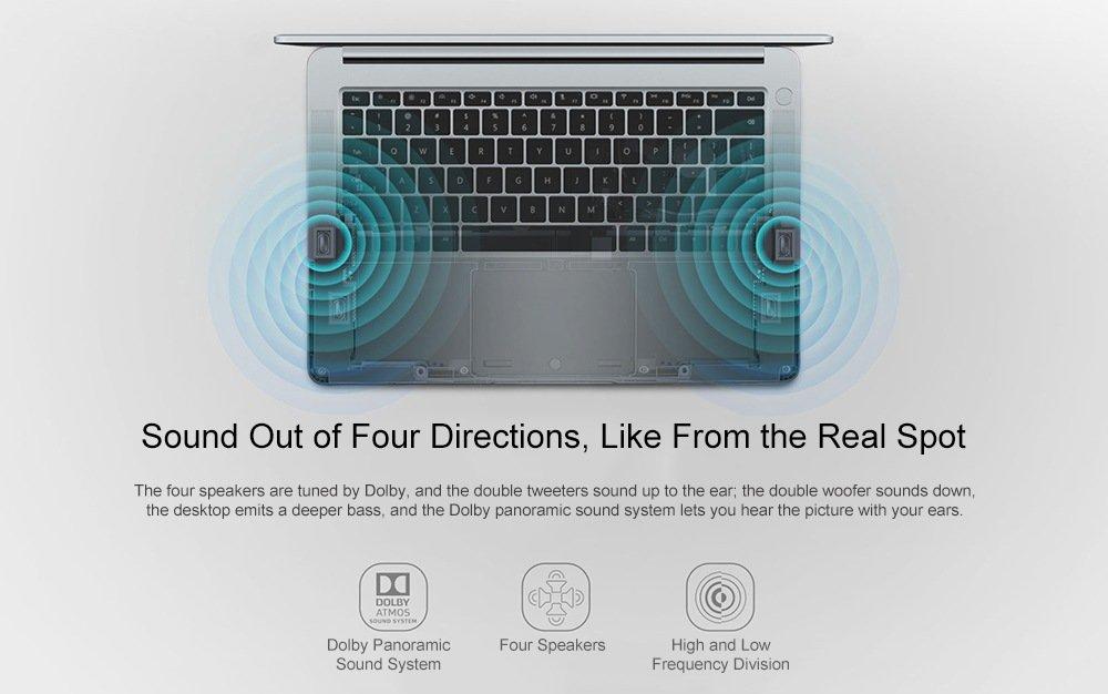 HUAWEI Honor MagicBook Laptop 8GB RAM 256GB SSD