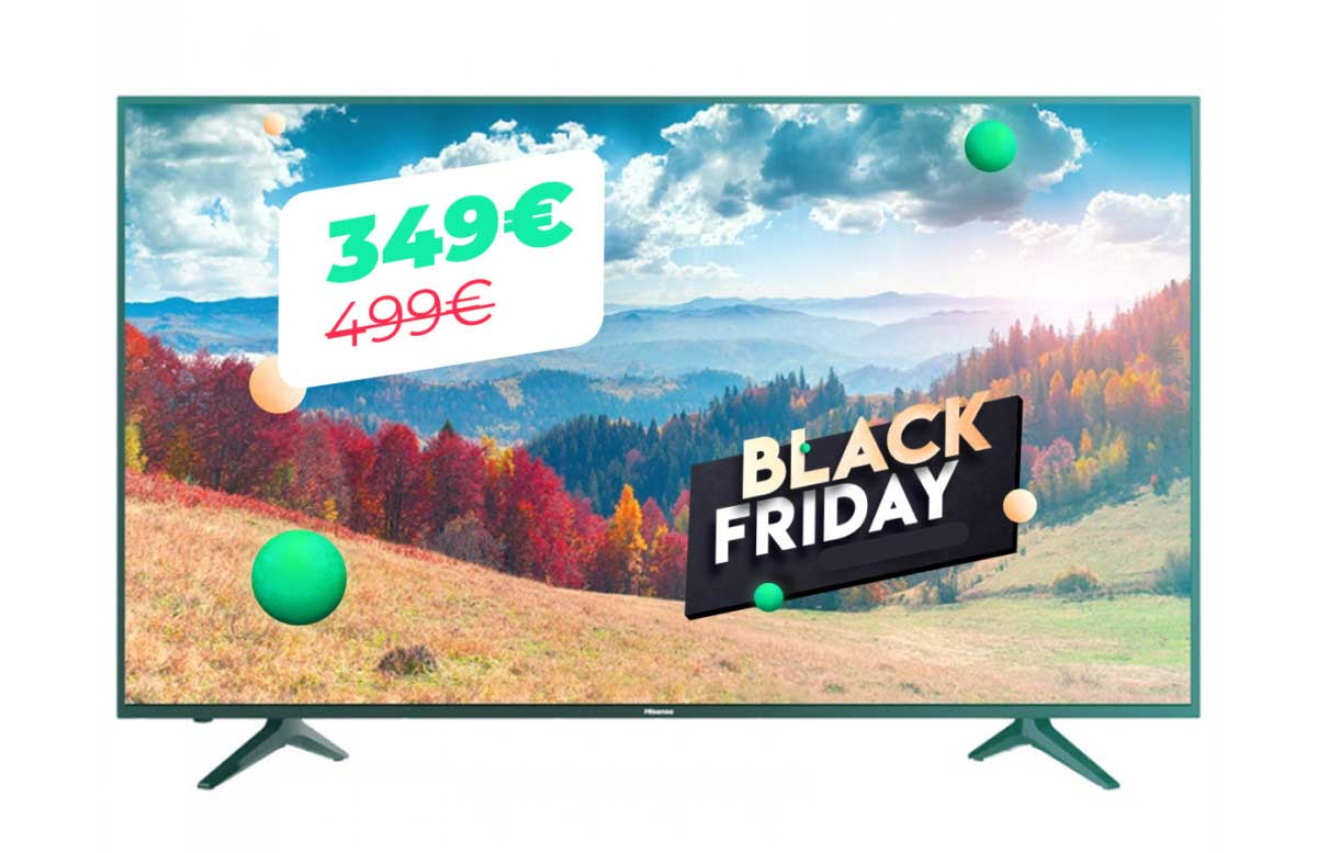 Hisense TV 58 inches 4K UHD for Black Friday