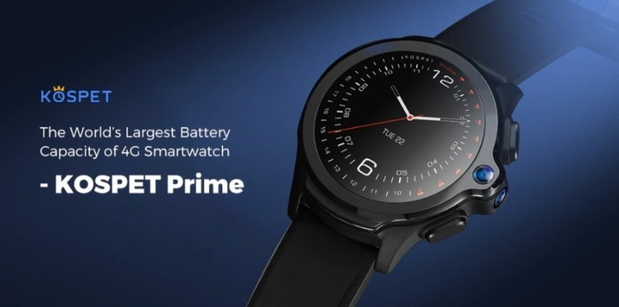 KOSPET Prime 4G Smart Watch Phone