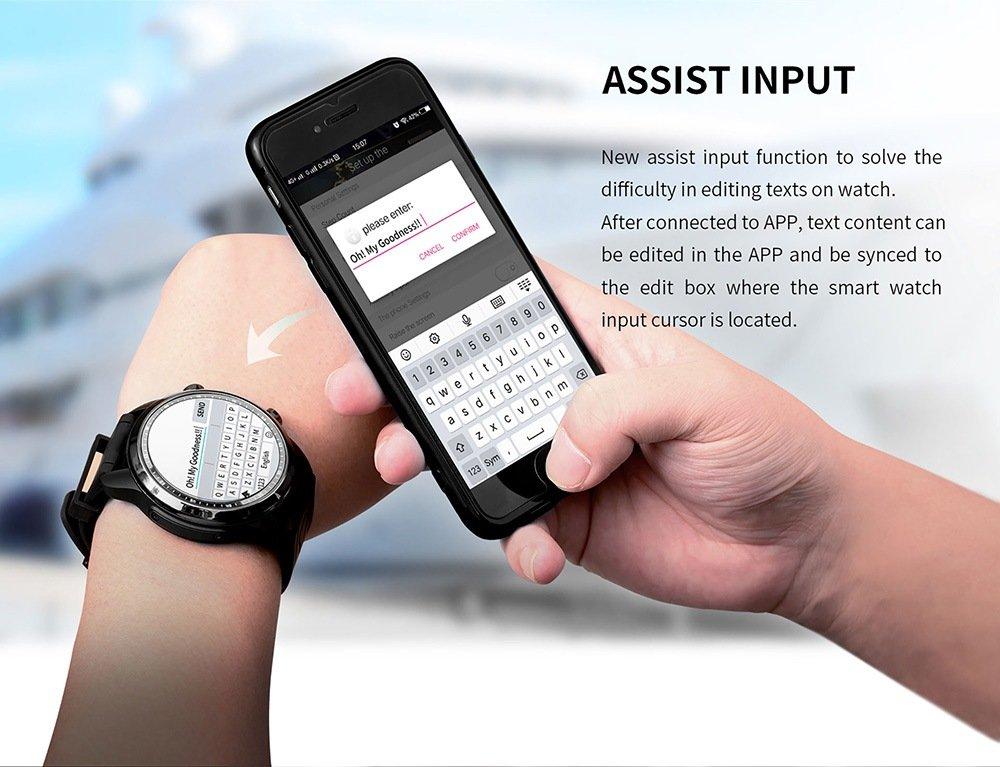 Kingswear KC06 4G Smartwatch Phone
