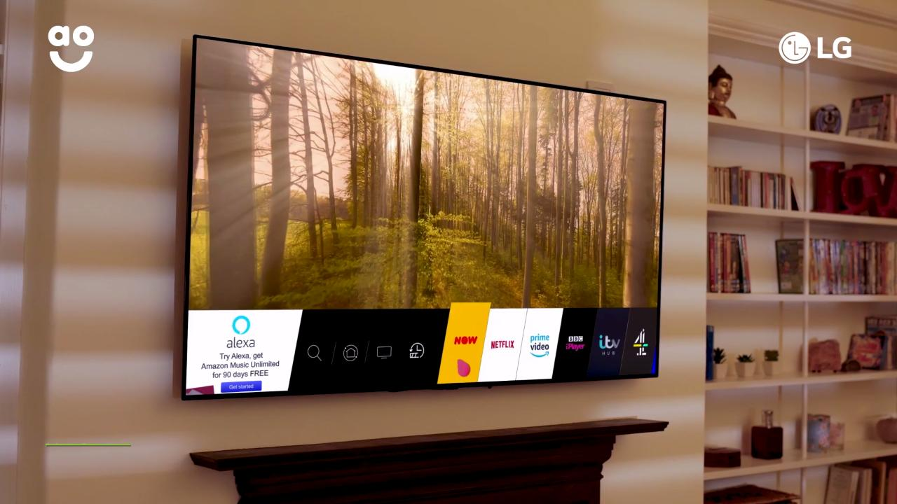 LG OLED 4K Ultra HD HDR Smart TV Sale