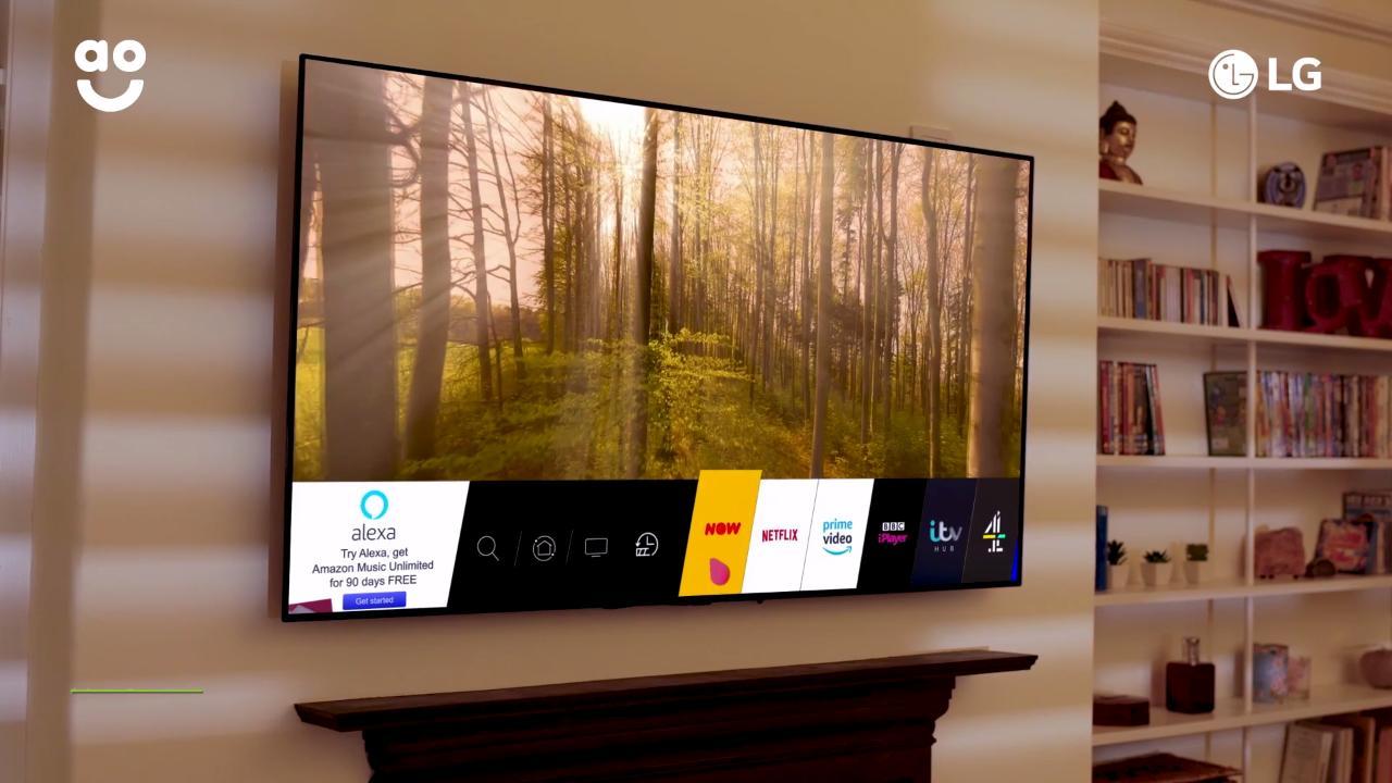 LG OLED 4K Ultra HD HDR Smart TV Sale