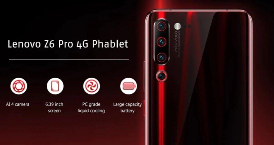 Christmas deals 2019 - Lenovo Z6 Pro 4G Phablet