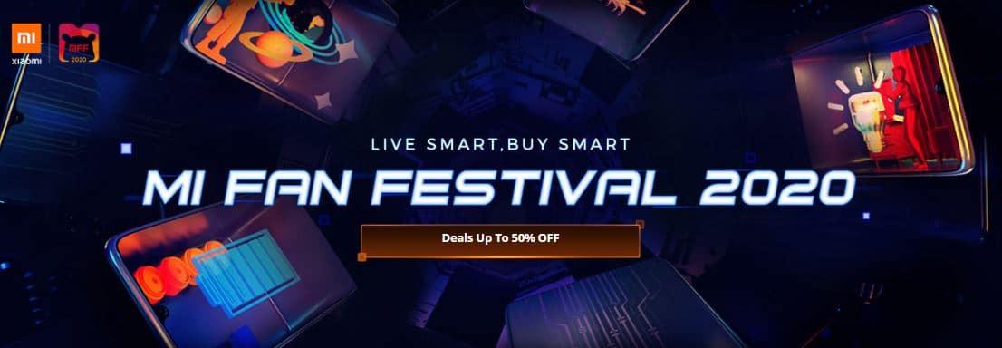 Mi Fan Festival - Best Xiaomi Devices Sale in 2020