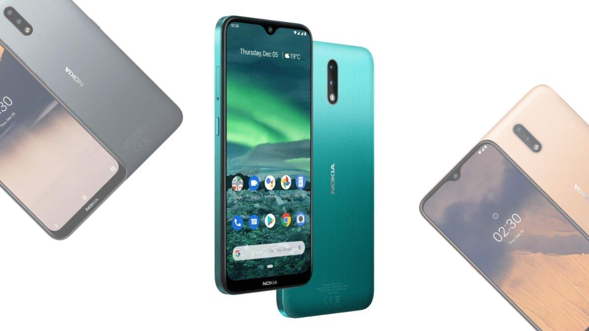 Nokia 2.3 basic but effective for 109 euros