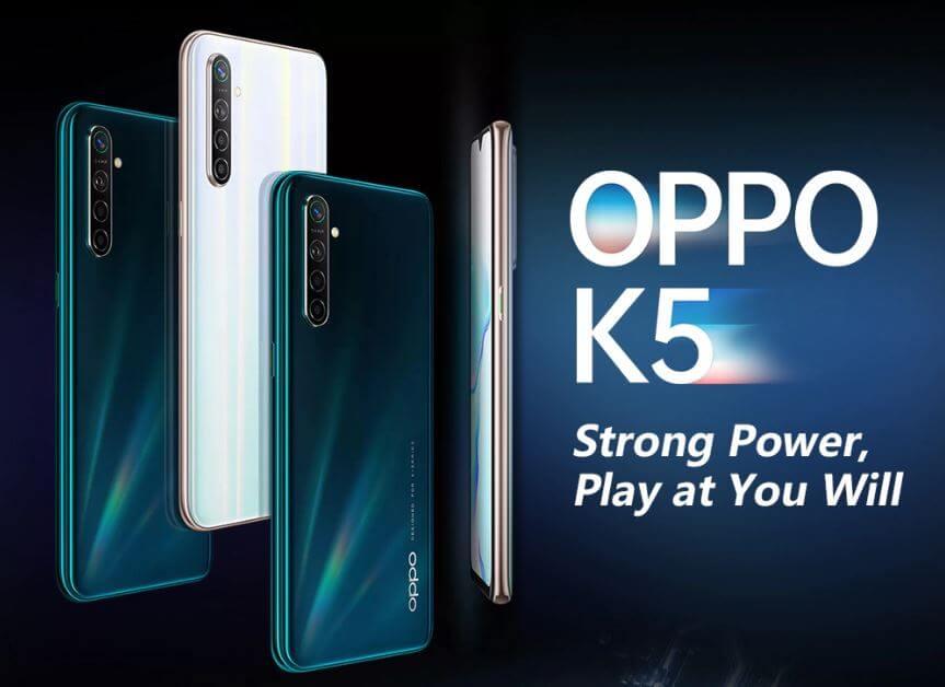 Oppo K5 4G Smartphone Deals 2020