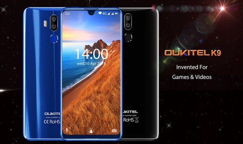 Christmas deals 2019 - OUKITEL K9 4G Phablet