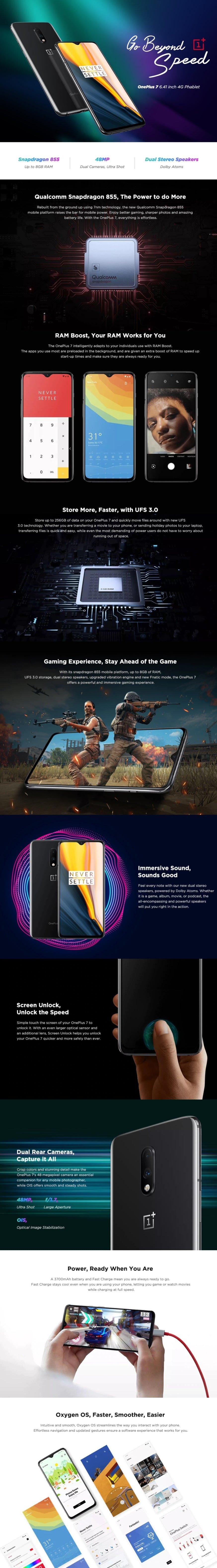 Black Friday Sale OPPO OnePlus 7 4G Phablet