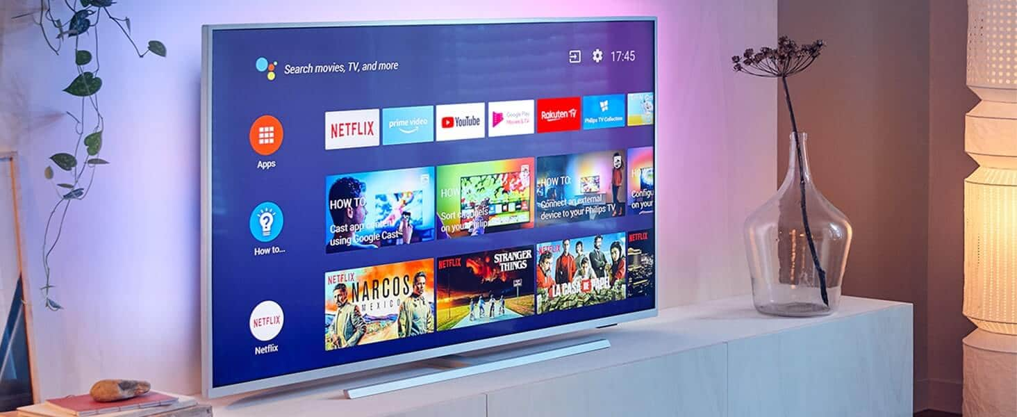 Philips 55PUS7304 55 inch Ambilight 4K UHD Android Smart TV with HDR