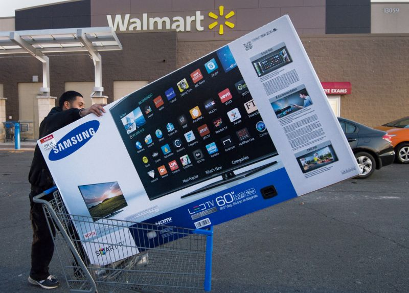 Samsung TVs at Walmart Black Friday Sale