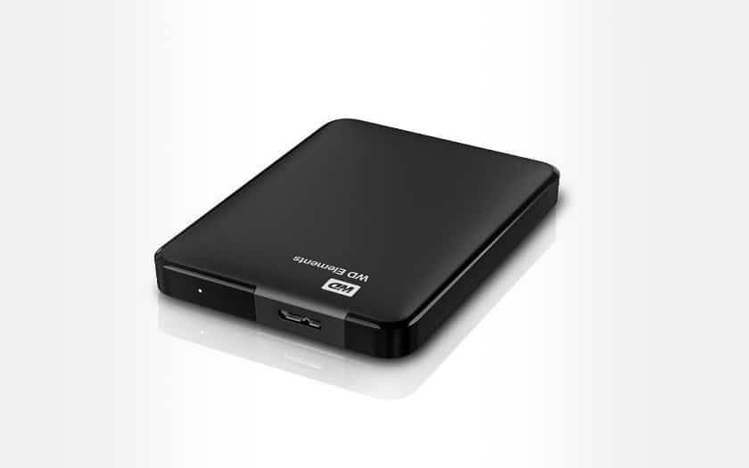 Western Digital Elements USB 3.0 2.5 External Hard Drive