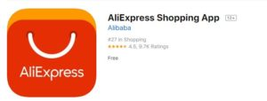 World Best Online Shopping Apps 2019 AliExpress App iso