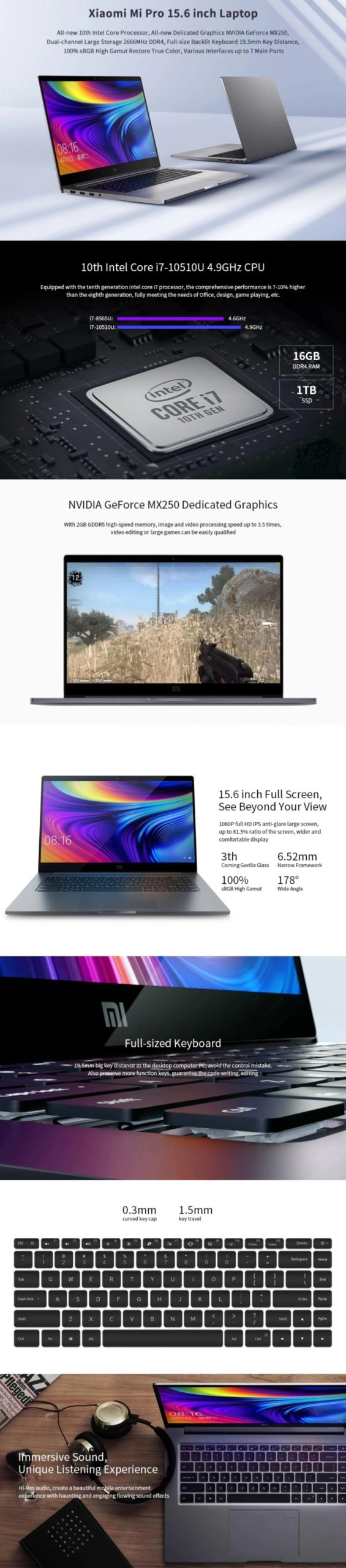 Cyber Monday Sale - Xiaomi Laptop Notebook
