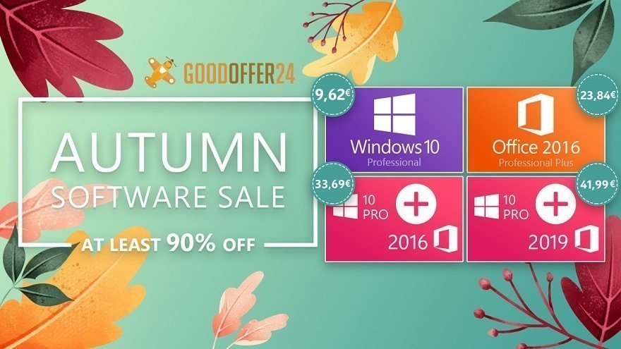 Up to 90% off Microsoft software