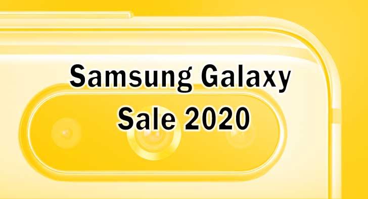 samsung galaxy sale 2020