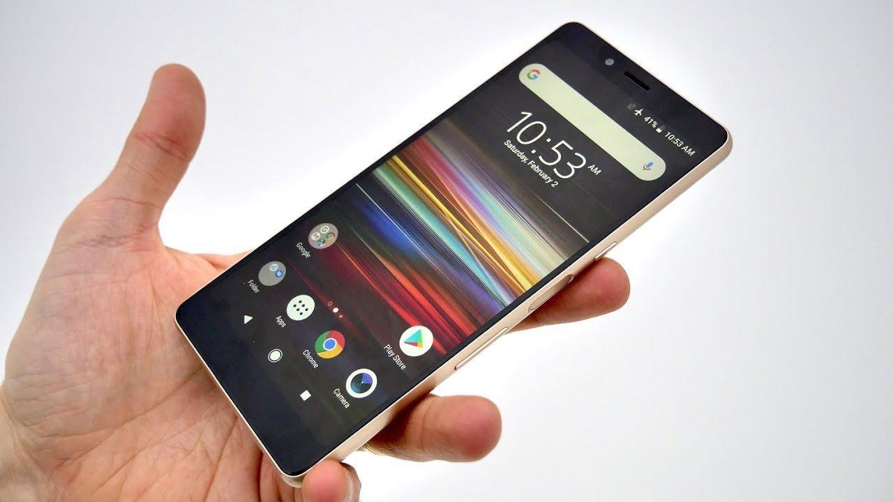 Sony Xperia L3 noir